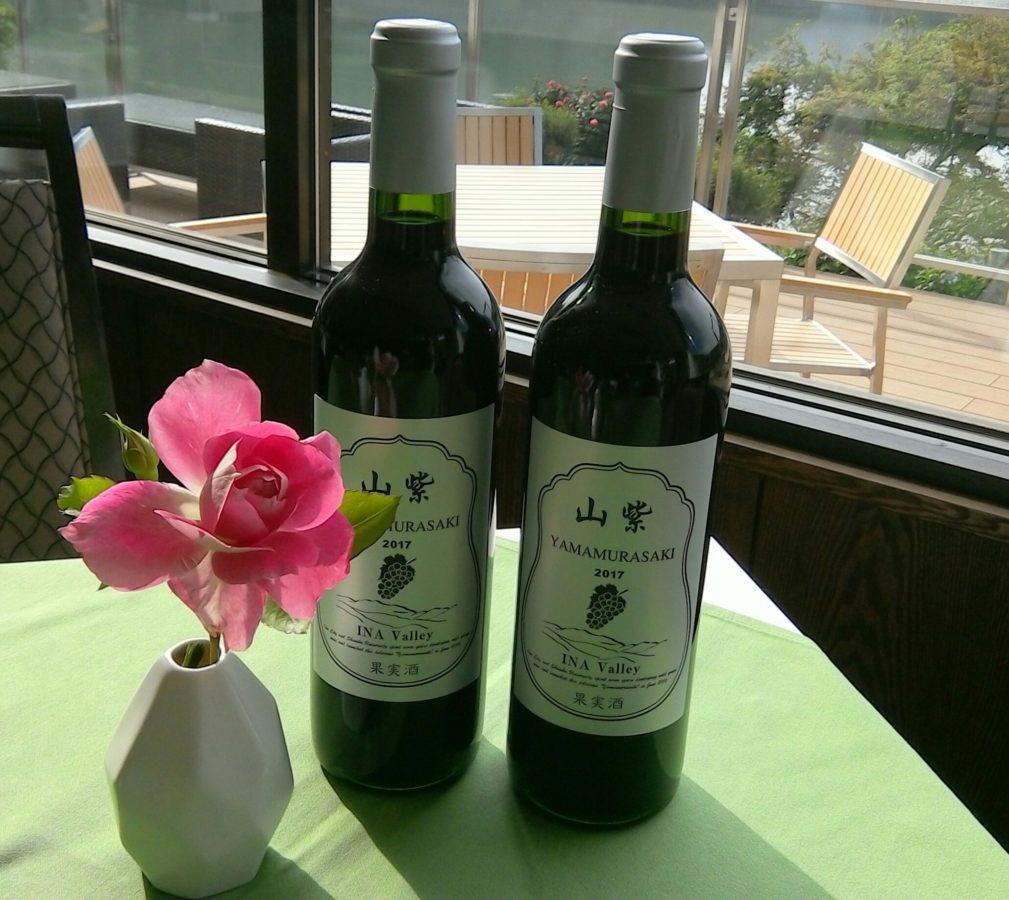 売店情報!【ヤマブドウワイン「山紫」】限定販売スタート!