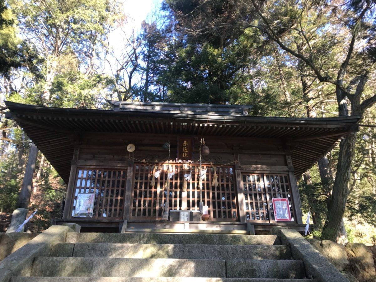 春近神社で合格祈願✨