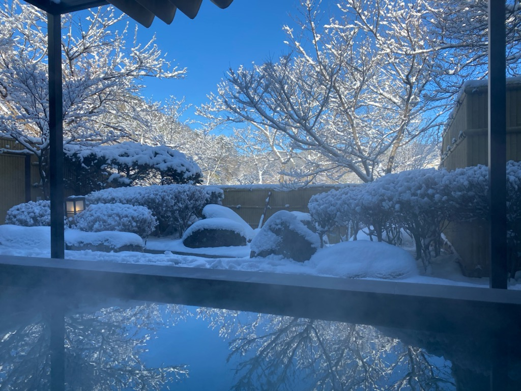 ⛄雪がふりました⛄