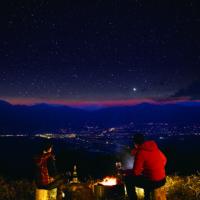 鹿嶺高原(夜)の星