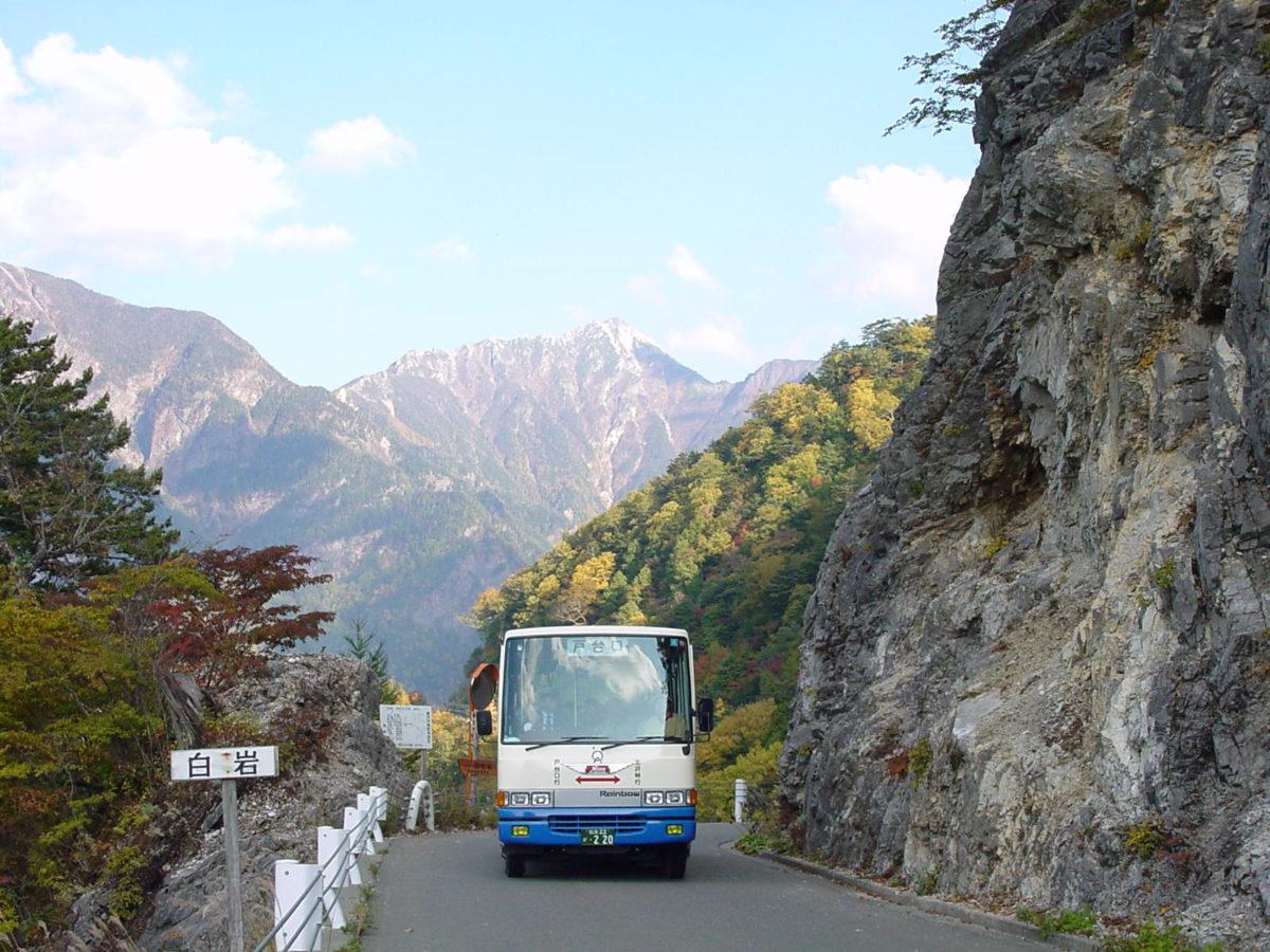 ⛰南アルプス林道バス『北沢峠』まで運行開始します🚌